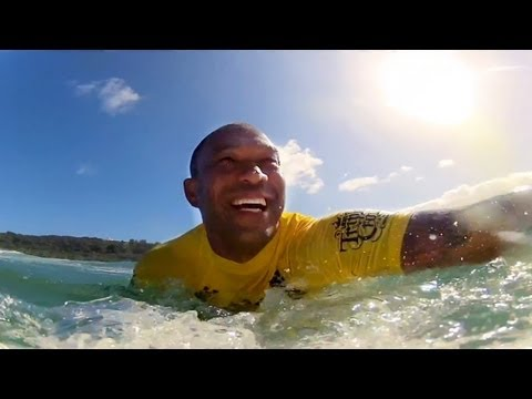 GoPro HD: Sunny Garcia Surfs Vans Triple Crown with GoPro