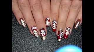 Football Nails Youtube