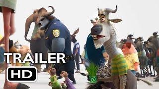 Zootopia Official Trailer #1 (2016) Jason Bateman Disney Animated Movie HD