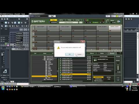 Cakewalk Sonar 8.5 Tutorial / Beatmaking Video #2