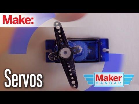 Maker Hangar: Episode 5 - Servos - UChtY6O8Ahw2cz05PS2GhUbg