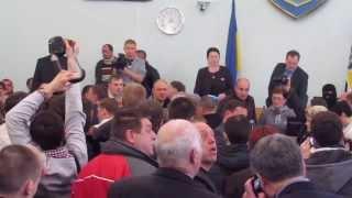 Конфликт на сессии Житомирского горсовета