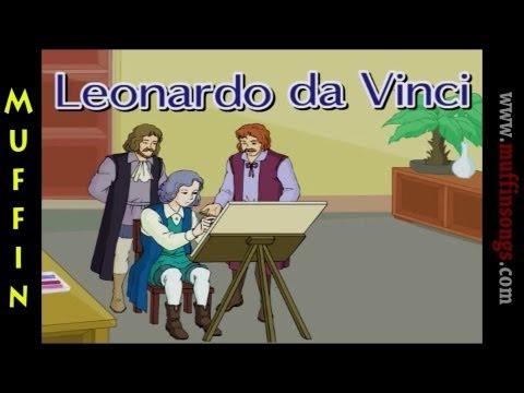 Muffin Stories - Leonardo da Vinci | Children's Tales, Stories and Fables