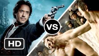 Sherlock Holmes vs Sherlock Holmes: Game of Shadows - Which Is Better? - HD Movie