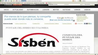 PASOS PARA CONSULTAR EL PUNTAJE DEL SISBEN EN COLOMBIA