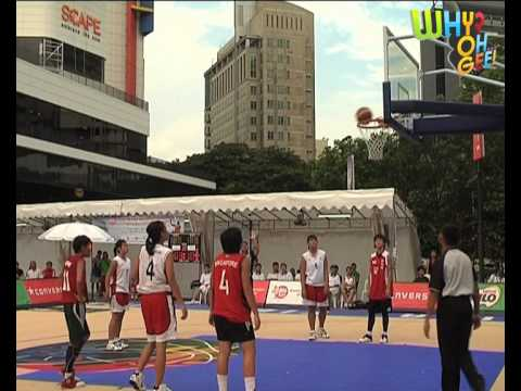 Basketball Match Highlights: Singapore YOG Girls vs Singapore national women's team
