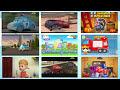 Фрагмент с конца видео - Мультики для детей про Машинки. Машинковый завод. Мультик про Полицейску Машину, Танк и Монстр Трак