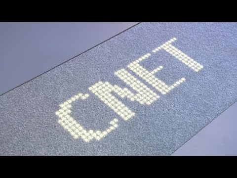 Philips rolls out the LED carpet