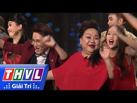 THVL | Cười xuyên Việt 2016 – Tập 4: Má Giàu nhảy hiphop trên nền nhạc Good Boy