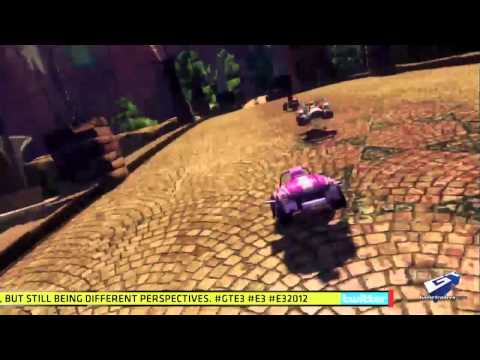 Sonic & All-Stars Racing Transformed - E3 2012: Danica Patrick Interview