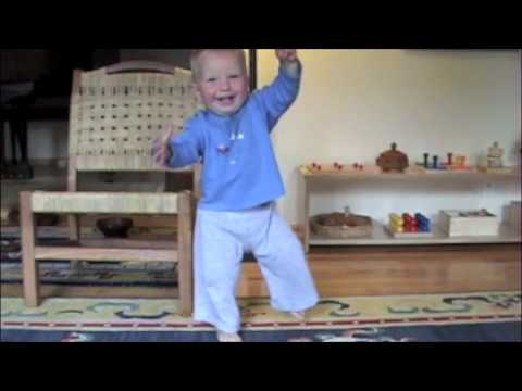 Montessori Infant Video, First Walking Alone