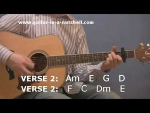 Acoustic Guitar Play Hotel California for Beginners