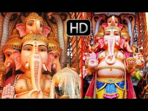 59 Feet Khairatabad Ganesh Idol 2013 | Pics Collection
