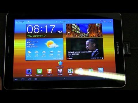Samsung Galaxy Tab 7.7 - Hands On!