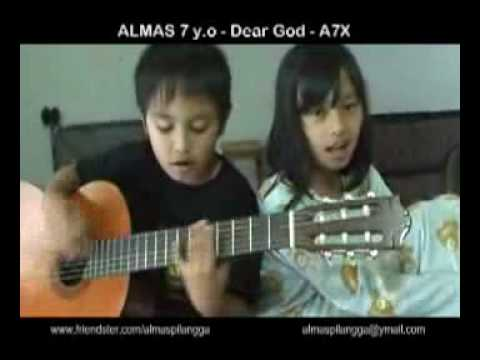 ALMAS 7 Years Old - Dear God (A7X cover)