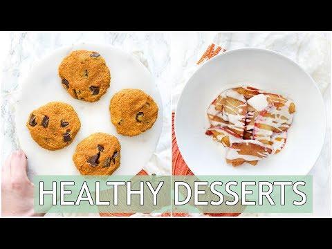 HEALTHY Dessert Ideas | Easy Quick Dessert Recipes