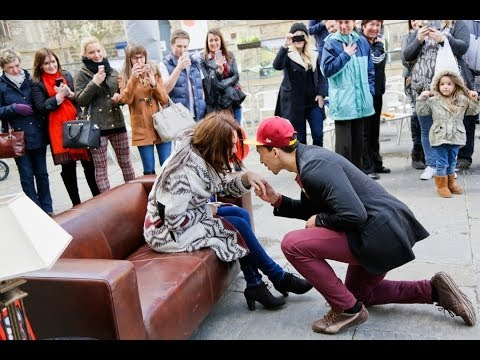 Best Oxford Flashmob Proposal Ever!
