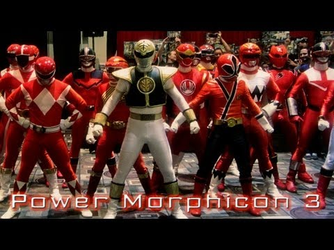 EPIC LOOK AT POWER MORPHICON 3! (August 2012 Pasadena Convention Center)