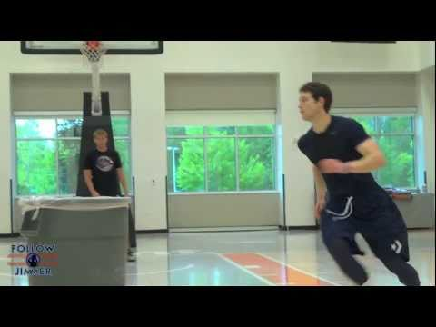 Jimmer Gets Creative with His Workout