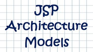 JSP Architecture Models - Tutorial (including MVC discussion)