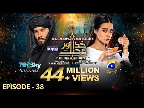 Khuda Aur Mohabbat - Season 3 2nd Last Episode 38 [Eng Sub] Digitally Presented by Happilac Paints