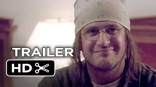 The End of the Tour Official Trailer #1 (2015) - Jason Segel, Jesse Eisenberg Movie HD