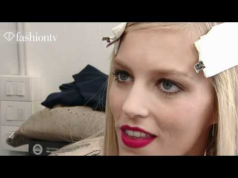 fashiontv - Anja Rubik  Model Talk Spring Summer 2011 - fashiontv | FTV.com