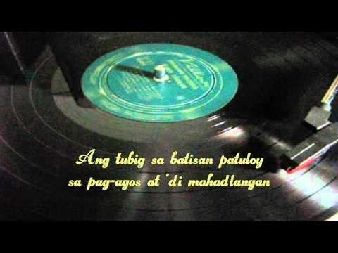 Balitaw: TUBIG SA BATISAN - Ruben Tagalog (Very Rare Vinyl Copy)