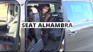 Seat Alhambra 2.0 2013 - wideotest AutoCentrum.pl