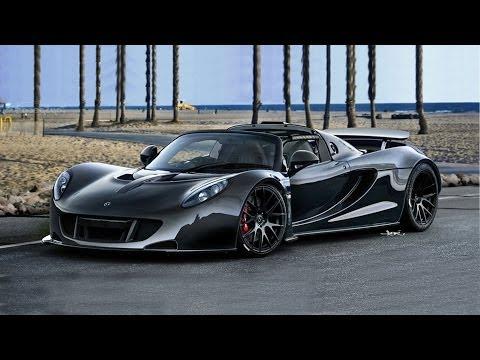 Amazing World's Fastest : 270.49 mph 435 KM/SN Hennessey Venom GT