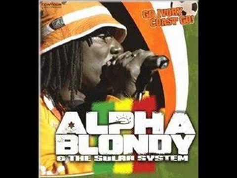 ALPHA BLONDY Cocody Rock  (with Lyric)
