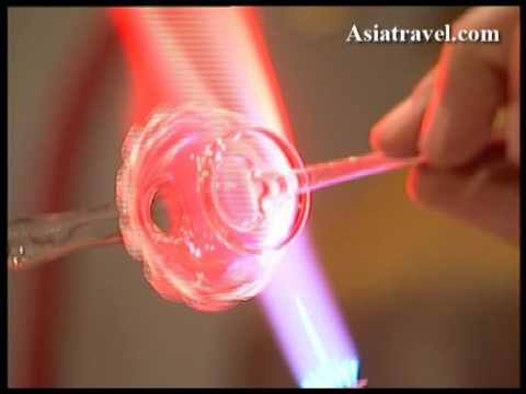 How to make Glass, Perfume Bottle by Asiatravel.com