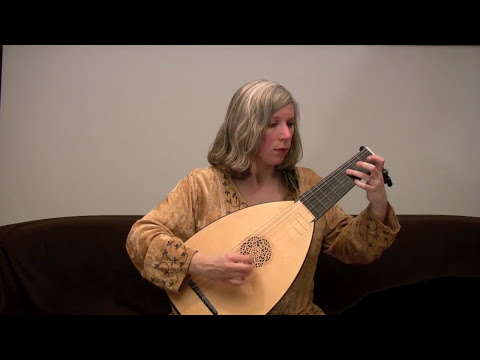 "Elizabeth Brown plays ""Earl of Essex's Galliard"" by John Dowland"
