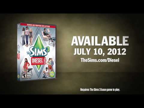 The Sims 3 Diesel Stuff Official Trailer