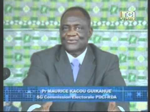 Le PDCI RDA prepare activement les elections législatives