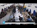 مساعدات إنسانية تصل لنازحي الموصل  - نشر قبل 49 دقيقة