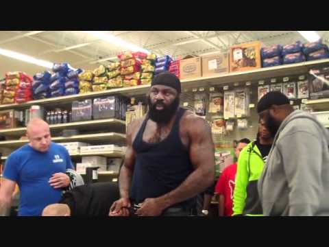 Kimbo Slice Vs. Brian Green Face off