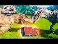 Ти-РЕКС VS ИНДОМИНУС РЕКС - Схватки Динозавров - Jurassic World EVOLUTION #1
