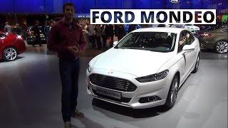Paryż 2014 - prezentacja Forda Mondeo