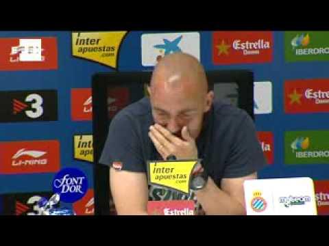 Iván de la Peña deja el fútbol y  agradece el apoyo a la afición del Espanyol