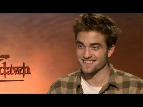 Robert Pattinson 'Breaking Dawn Part 1' Interview