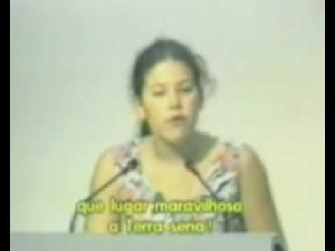 Severn Suzuki...(ESPAÑOL) La Niña que SILENCIO al mundo por 6:32 MINUTOS