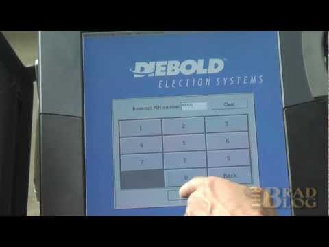 Man-in-the-Middle Remote Attack on Diebold Touch-screen Voting Machine by Argonne National Lab