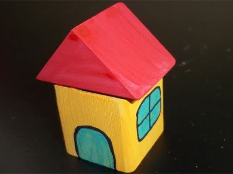 How to make a wooden Block House