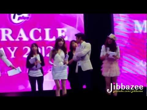 [Fancam] 120802 Tiffany Siwon - Dance Game @ 12plus Miracle Day 2012 By Jibbazee