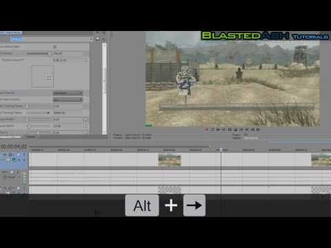 How to motion track in Sony Vegas Pro 10  [REAL MOTION TRACKING] [Tutorial]