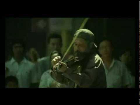 la chica que toca el violín, anuncio para la televisión de Thailandia. Subtitulado en español