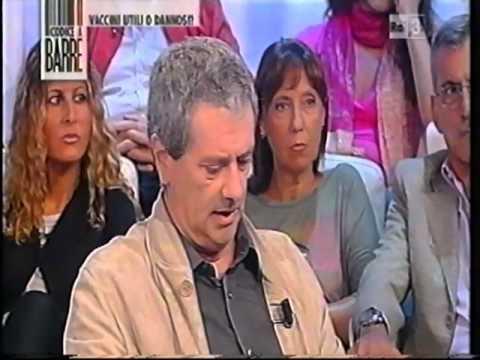 AUTISMO E VACCINI trasmissione Codice a Barre RAI 3 con il DOTT  MAURIZIO PROIETTI