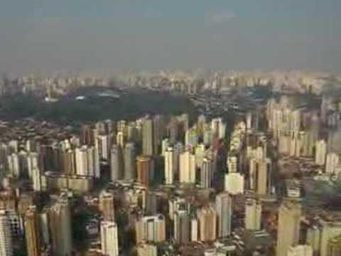 Landing in Sao Paulo