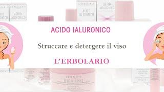 Un viso deterso e sempre giovane?Guarda il tutorial dei prodotti Acido Ialuronico!